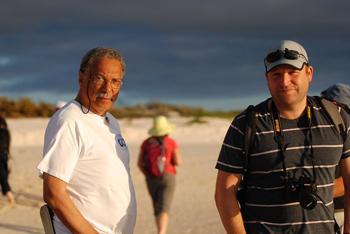 Daniel Pauly and Steve Box