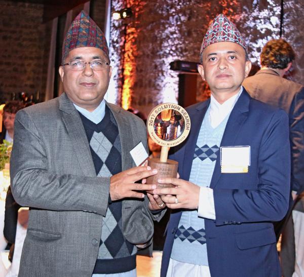 Dr. Dhruba Gautam and Madhu Gautham