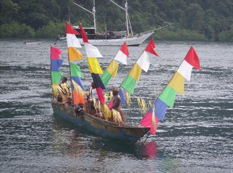 Indonesian boat