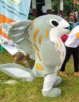 Rare Rabbitfish Mascot