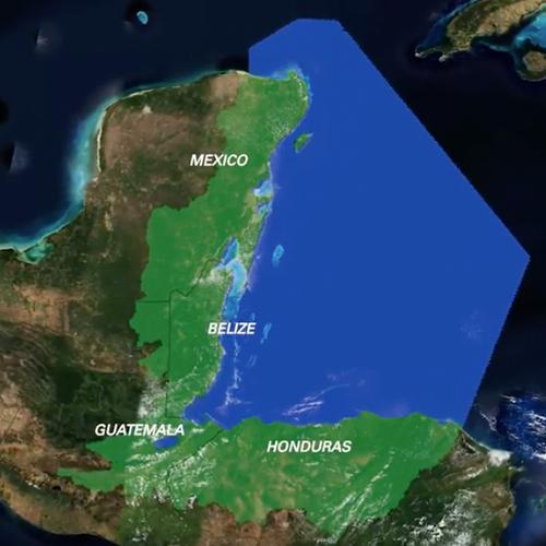 Mesoamerican Reef map