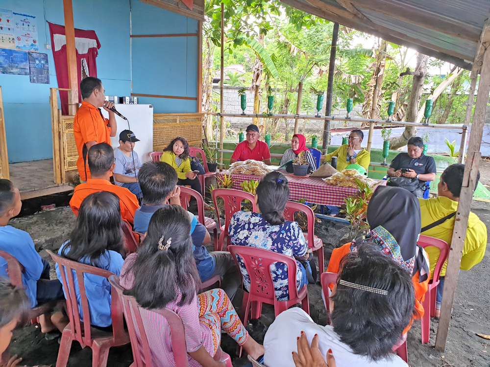 BAPPENAS's field visit to Fish Forever field site