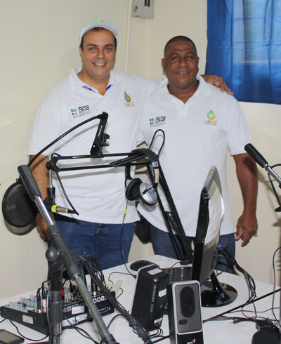 JJ Salazar and Carlos Antonio Hurtado
