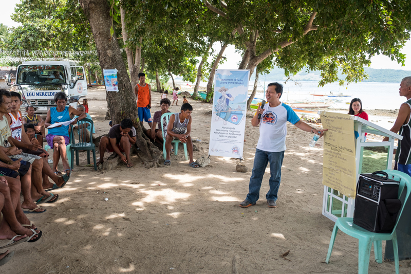 Mike Totanes, Local Leader with Rare in Mambungalon, Philippines