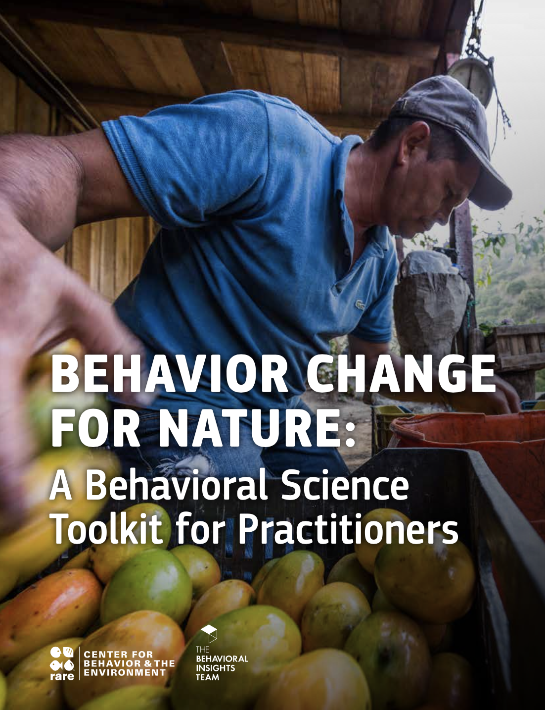 Behavior Change for Nature report cover