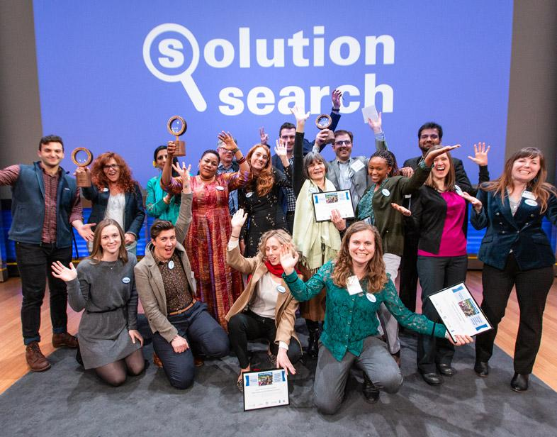Solution Search Contest winners