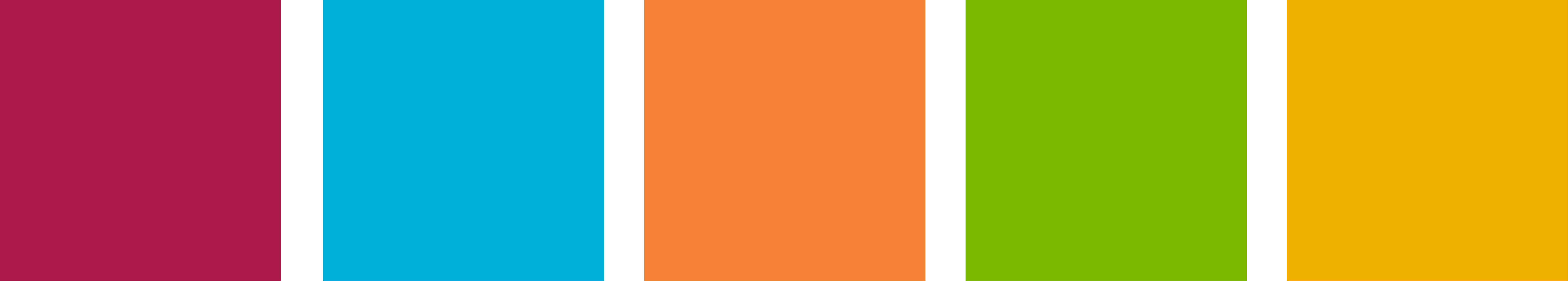 rare secondary color palette