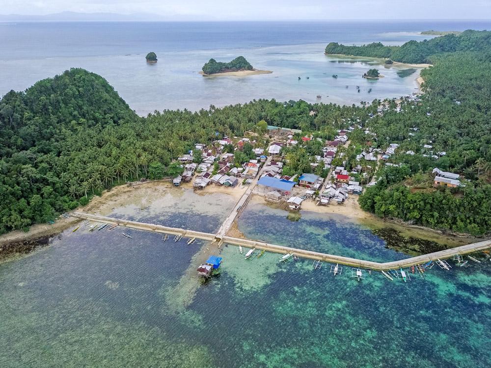 Caub MPA in Del Carmen, Philippines