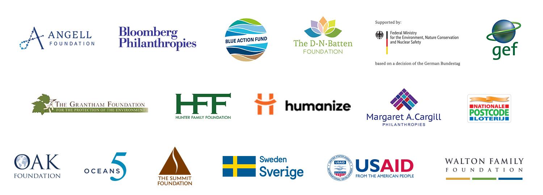 Fish Forever funder logos