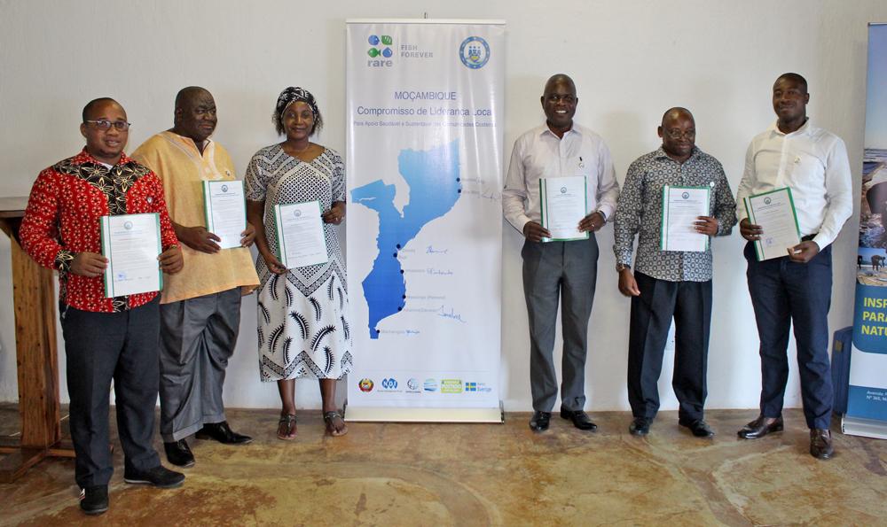 Public pledge in Mozambique