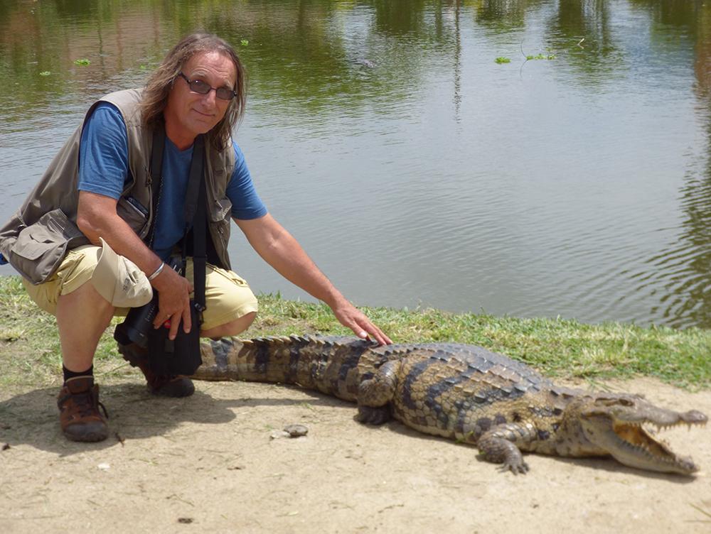Paul Butler in Ghana.
