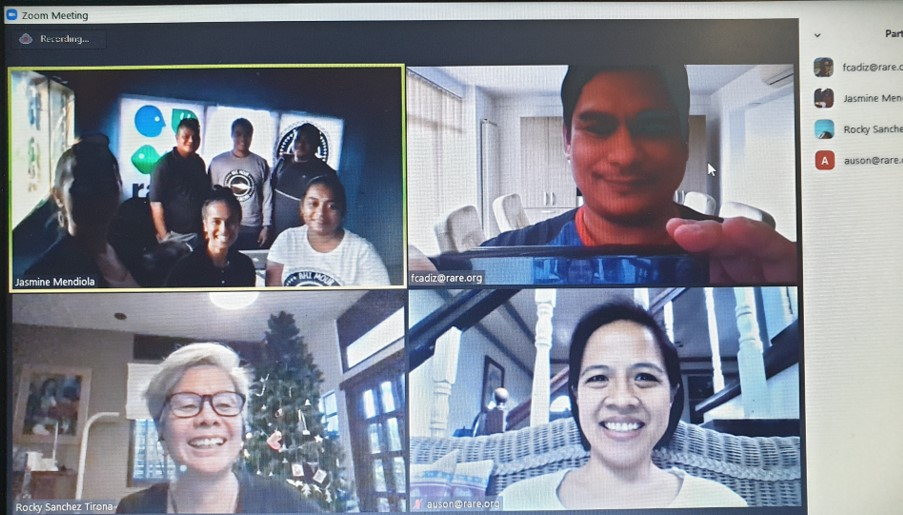 Google Classrooms for Rare and its co-delivery partners, Micronesia Conservation Trust and Conservations Society of Pohnpei (in FSM) and E'biil Society (in Palau).