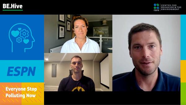 Professional athletes talk about environmental activism.
